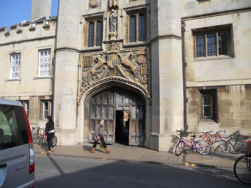 First clue in the great spy hunt, a Cambridge college