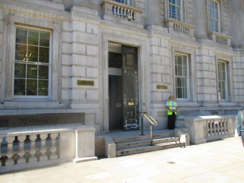 The Cabinet Office, scene of fierce top-level disagreements